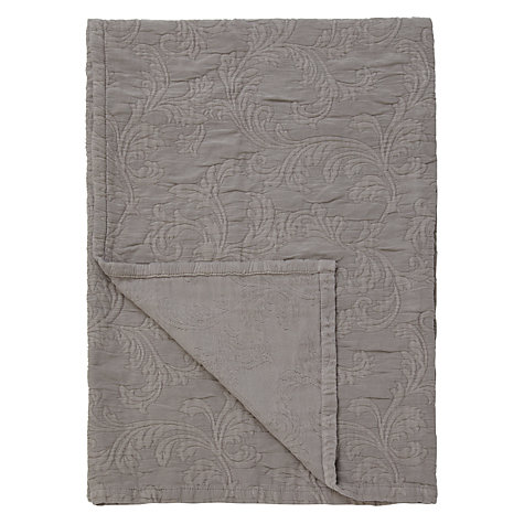 Buy John Lewis Leaf Scroll Throw Online at johnlewis.com