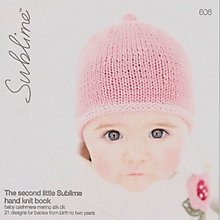 Buy Sirdar The Second Little Sublime Hand Knit Book Online at johnlewis.com