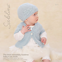 Buy Sirdar The Third Irresistibly Sublime Baby Book Online at johnlewis.com