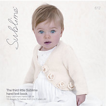 Buy Sirdar The Third Little Sublime Hand Knit Book Online at johnlewis.com