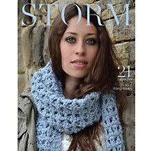 Buy Rowan Storm by Kim Hargreaves Knitting Booklet Online at johnlewis.com