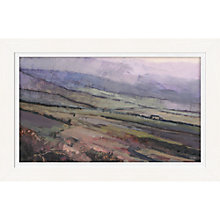 Buy James Wheeler - Lilac Slope Framed Print, 74 x 114cm Online at johnlewis.com