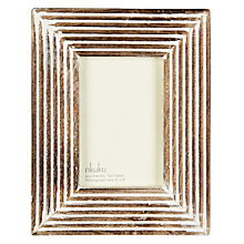 "Buy Nkuku Fundo Wood Photo Frame, 4 x 6"" (10 x 15cm) Online at johnlewis.com"