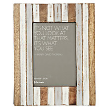"Buy John Lewis Coastal Table Photo Frame, Multi, 5 x 7"" (13 x 18cm) Online at johnlewis.com"