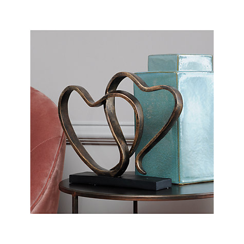 Buy Libra Two Hearts Sculpture Online at johnlewis.com