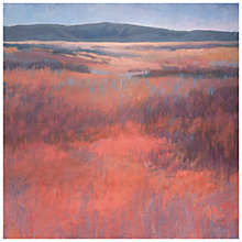Buy Jeannie Sellmer - New Mexico Red Print on Canvas, 50 x 50cm Online at johnlewis.com