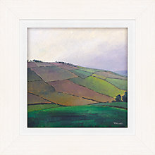 Buy James Wheeler - Curving Hill Framed Print, 49 x 49cm Online at johnlewis.com