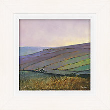 Buy James Wheeler - Wall Contours Framed Print, 49 x 49cm Online at johnlewis.com