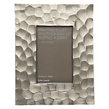 "Buy John Lewis Aluminium Photo Frame, Bronze, 4 x 6"" (10 x 15cm) Online at johnlewis.com"