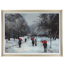 Buy Debbie Neill - Meadows in Winter, Edinburgh, 86 x 112cm Online at johnlewis.com