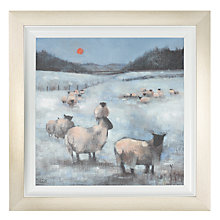 Buy Debbie Neill - Winter Scene 2 Framed Print, 52 x 52cm Online at johnlewis.com