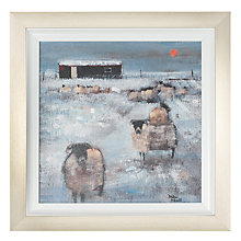 Buy Debbie Neill - Winter Scene 1 Framed Print, 52 x 52cm Online at johnlewis.com