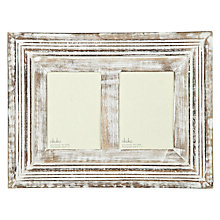 "Buy Nkuku Anusha Multi-aperture Frame, 2 Photo, 5 x 7"" (13 x 18cm) Online at johnlewis.com"