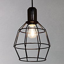 Buy House by John Lewis Cage Pendant Online at johnlewis.com