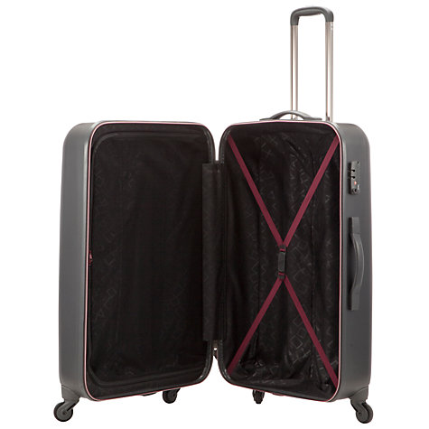 Buy John Lewis Jupiter 4-Wheel Large Suitcase, Graphite Online at johnlewis.com