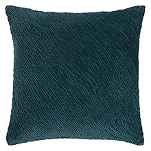 Buy John Lewis Croft Collection Ocean Cushion, Lake Blue Online at johnlewis.com