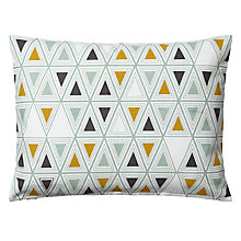 Buy John Lewis Printed Pyramids Cushion Online at johnlewis.com