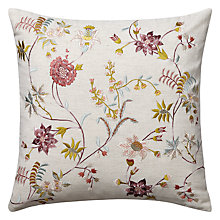 Buy John Lewis Madam B Cushion, Pink Online at johnlewis.com