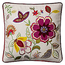 Buy John Lewis Floral Fun Cushion Online at johnlewis.com