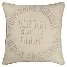 Buy John Lewis Maison Text Cushion Online at johnlewis.com