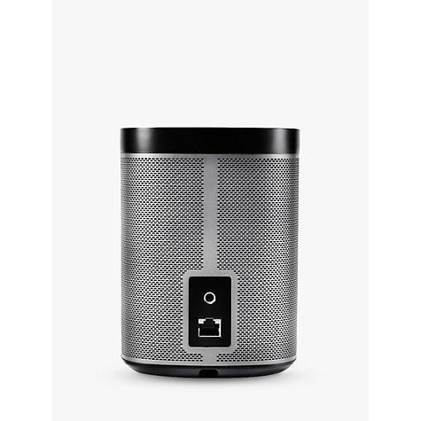 Buy Sonos PLAY:1 Wireless Music System, Black with FREE Sonos Bridge Online at johnlewis.com