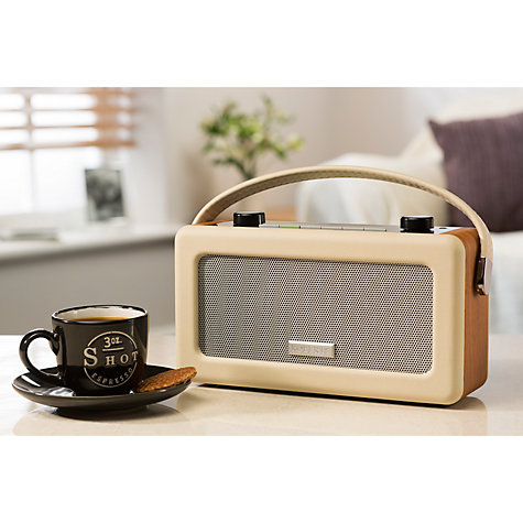 Buy ROBERTS Vintage DAB Digital Radio Online at johnlewis.com