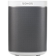 Buy Sonos PLAY:1 Wireless Music System, White with FREE Sonos Bridge Online at johnlewis.com