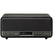 Buy ROBERTS Blutune Speaker DAB/FM Bluetooth Digital Radio Online at johnlewis.com