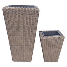 Buy John Lewis Reims Planters Set of 2 Online at johnlewis.com