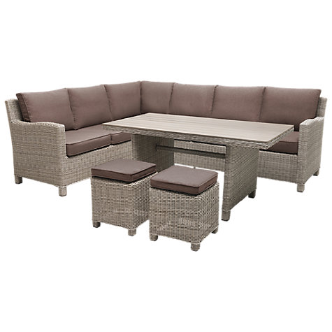 Buy KETTLER Palma 8-Seater Outdoor Lounge Set Online at johnlewis.com