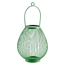 Buy House by John Lewis Jessica Outdoor Lantern, H28cm Online at johnlewis.com