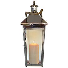 Buy Foras Lavenham 66cm Hanging Lantern, Medium Online at johnlewis.com
