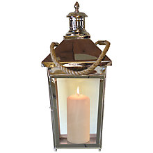 Buy Foras Lavenham 56cm Hanging Lantern, Small Online at johnlewis.com