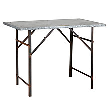 Buy Foras Holkam Vintage Outdoor Rectangular Table Online at johnlewis.com