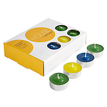 Buy John Lewis Tealights, Pack of 24, Multi Online at johnlewis.com