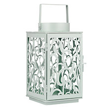 Buy John Lewis Fleur Outdoor Lantern, Medium Online at johnlewis.com