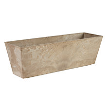 Buy Artstone Ella Planter, Beige Online at johnlewis.com