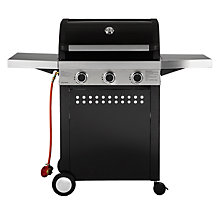 Buy John Lewis JL3-2014 Hooded 3 Burner Gas Barbecue Online at johnlewis.com