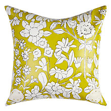 Buy Oily Rag 150 Years Floral Outdoor Cushion Online at johnlewis.com