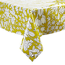 Buy Oily Rag Daisychain Rectangular Tablecloth, L200 x W135cm Online at johnlewis.com