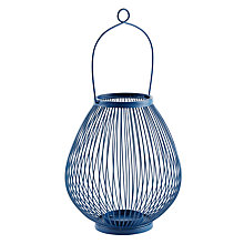 Buy John Lewis Jessica Outdoor Lantern, H28cm Online at johnlewis.com
