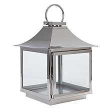 Buy Foras Elveden Stainless Steel Lantern Online at johnlewis.com