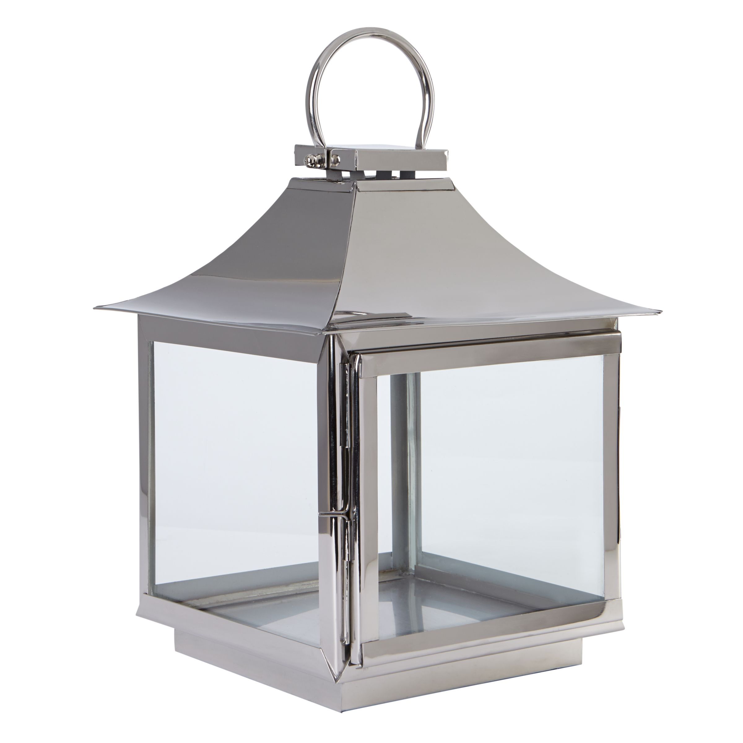 Foras Elveden Stainless Steel Lantern, Small