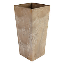 Buy Artstone Ella Vase Planter, Beige Online at johnlewis.com