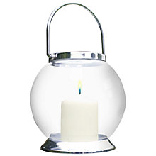 Buy La Hacienda Glass Globe Candle Lantern, Small Online at johnlewis.com