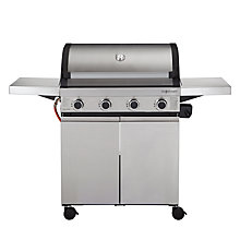 Buy John Lewis JL4-2014 4 Burner Roaster Barbecue Online at johnlewis.com