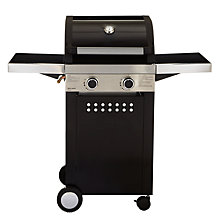 Buy John Lewis Hooded 2 Burner Gas Barbecue Online at johnlewis.com