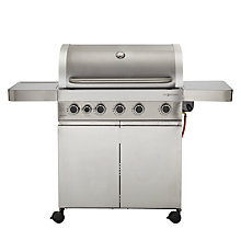 Buy John Lewis Jl5sb-2014 Roaster 5 Burner Barbecue Online at johnlewis.com