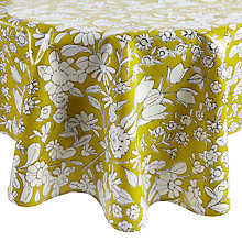 Buy Oily Rag Daisychain Round Tablecloth, Dia.130cm Online at johnlewis.com
