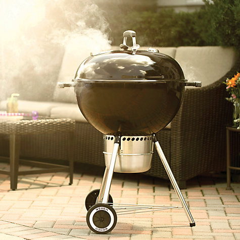Buy Weber Master Touch Charcoal Barbecue with Gourmet Grills, 57cm Online at johnlewis.com